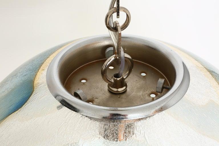 Murano Glass Globe Pendant For Sale 10