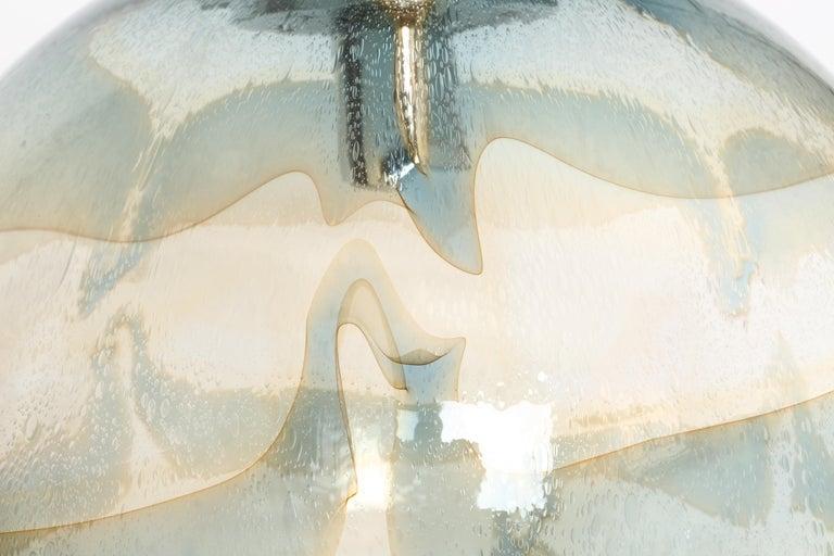Murano Glass Globe Pendant For Sale 2