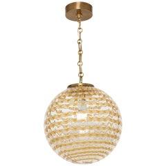 Murano Glass Globe Pendant
