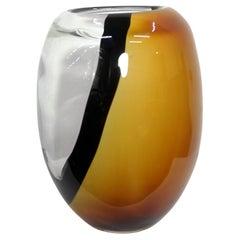Murano Glass Hand Made Vase, 1970s