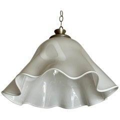 Murano Glass Handkerchief Style Hanging Light