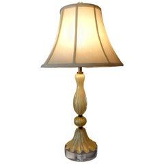 Murano Glass Lamp Attributed to Barovier