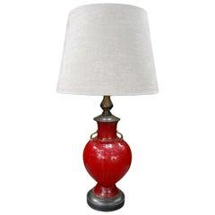 Murano Glass Lamp by Seguso