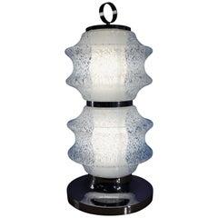 Murano Glass Lamp, Italy, 1970s