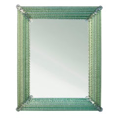 Murano Glass Mirror by Studio Glustin