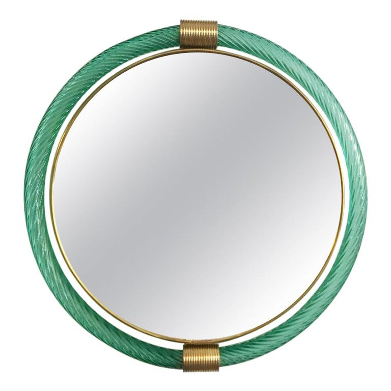 Murano Glass Mirrors by Barovier & Toso For Sale