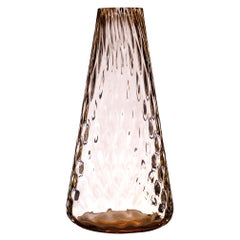 Murano Glass One Flower Vase Made in Murano