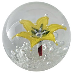 Murano Glass Paperweight by Ferro & Lazzarini FINAL CLEARANCE SALE