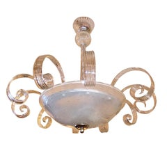 Murano Glass Pendant Chandelier