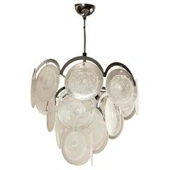 Murano Glass Pendant Light after Vistosi