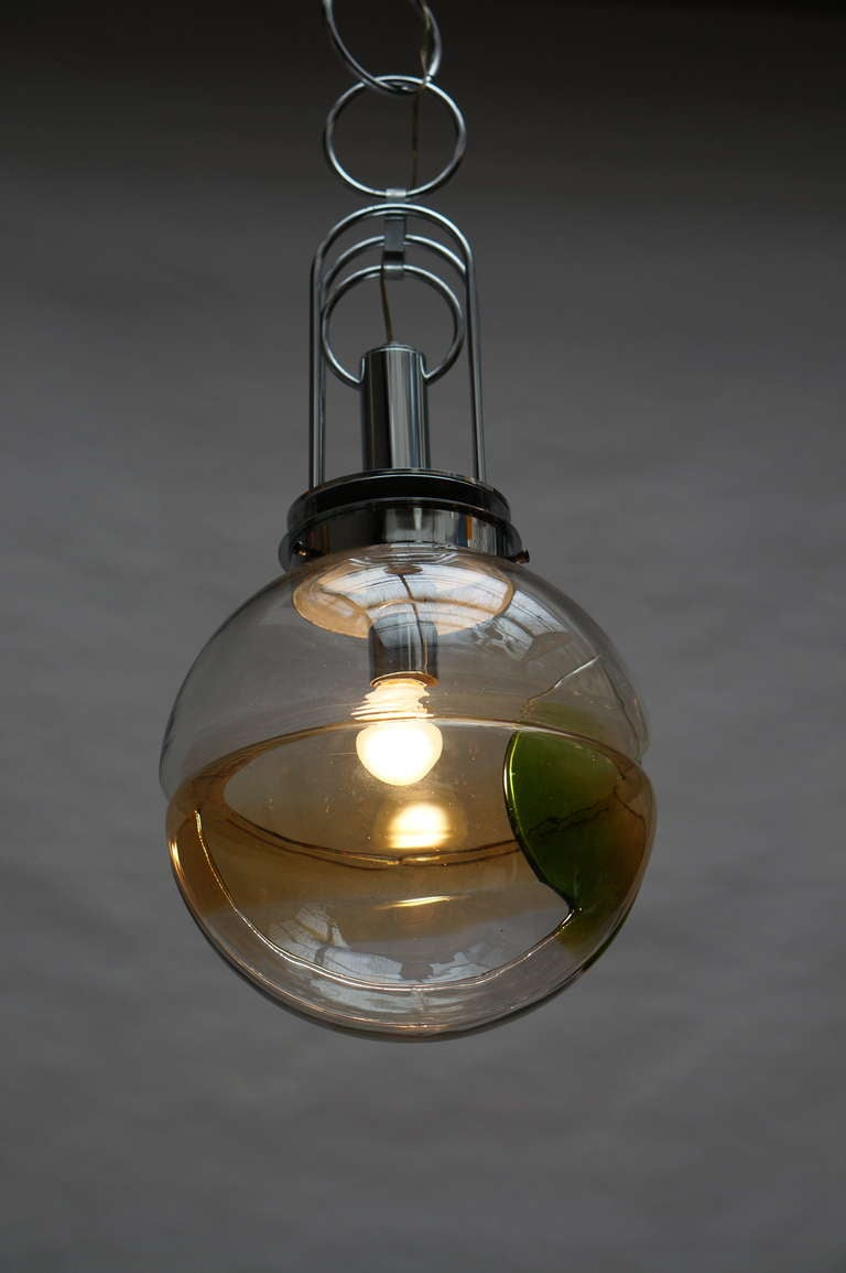 Murano Glass Pendant Light, Italy In Good Condition For Sale In Antwerp, BE