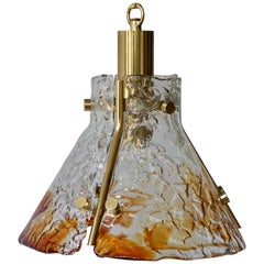 Murano Glass Pendant Light, Italy