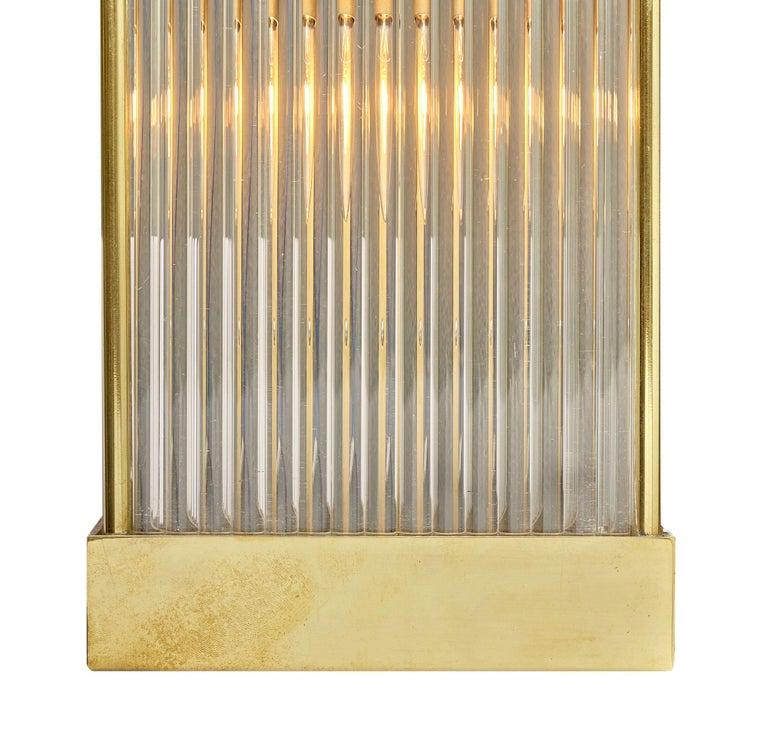 Contemporary Murano Glass Rod Sconces For Sale