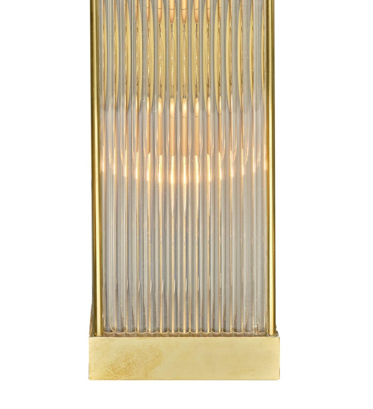Murano Glass Rod Sconces For Sale 1