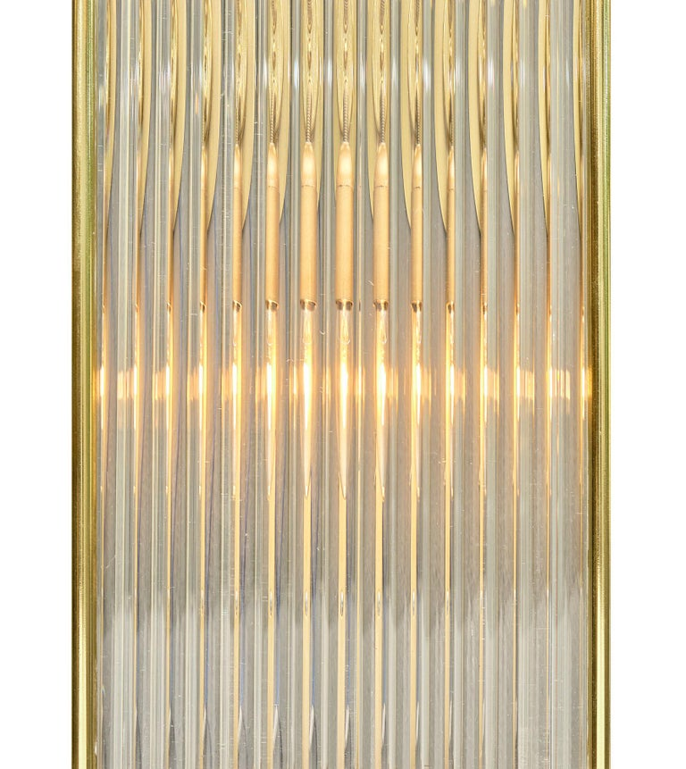 Murano Glass Rod Sconces For Sale 2
