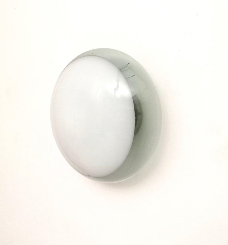 Metal Murano Glass Sconce Model