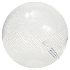 Murano Glass Swirl Table Lamp