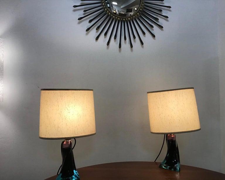 Mid-Century Modern Murano Glass Table Lamp, 1960s