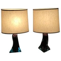 Murano Glass Table Lamp, 1960s