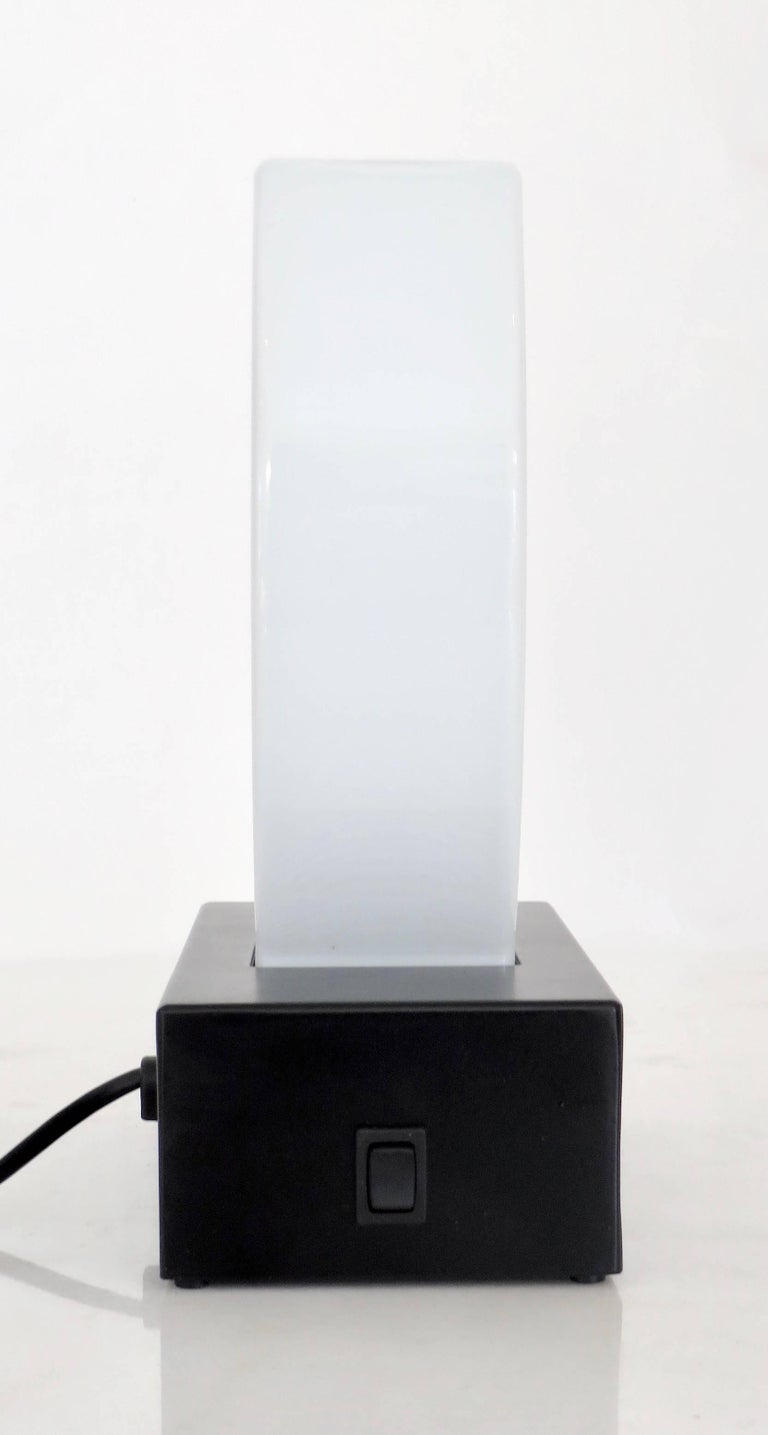 Murano Glass Table Lamp Dorane by Ettore Sottsass for Stilnovo In Good Condition For Sale In Chicago, IL