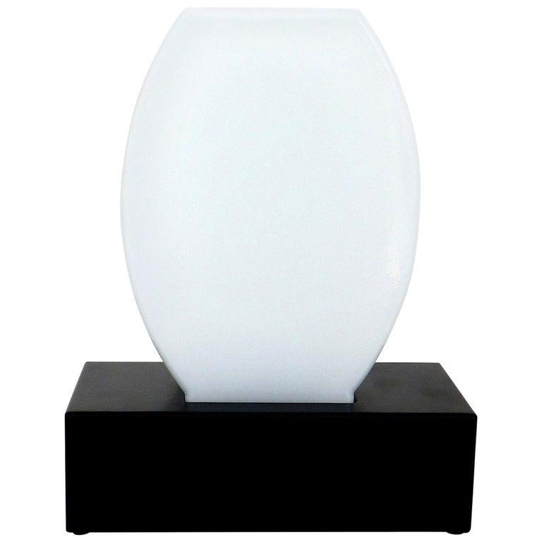 Murano Glass Table Lamp Dorane by Ettore Sottsass for Stilnovo For Sale