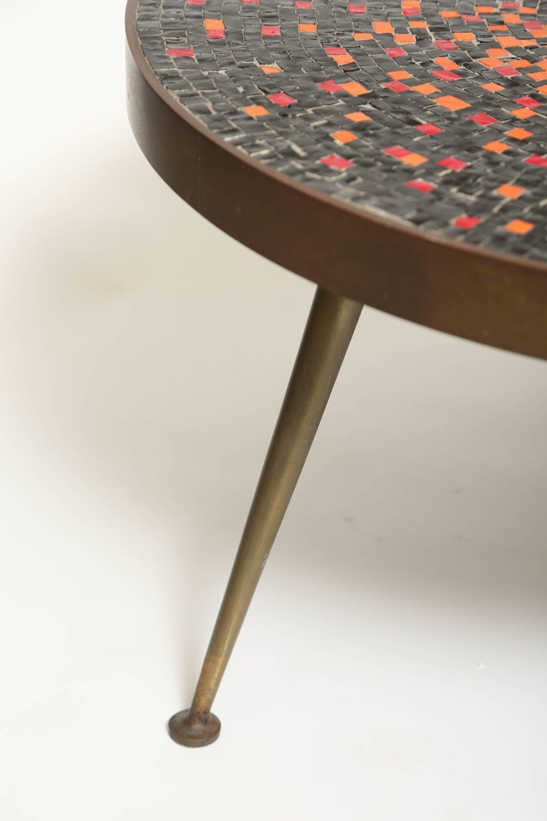 Murano Glass Tile Coffee Table For Sale at 1stDibs