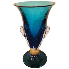Murano Glass Vase by Alberto Donà