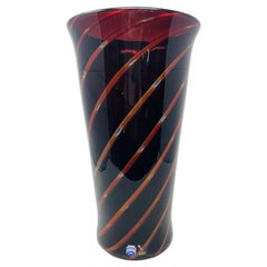 Murano Glass Vase by Antonio da Ros for Cenedese, Italy, 1980s