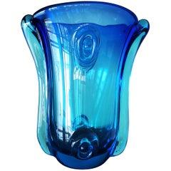 Murano Glass Vase by Archimede Seguso, circa 1950