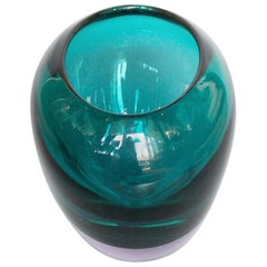 Murano Glass Vase by Fabio Tosi & Antonio da Ros for Ars Cendese, circa 1960