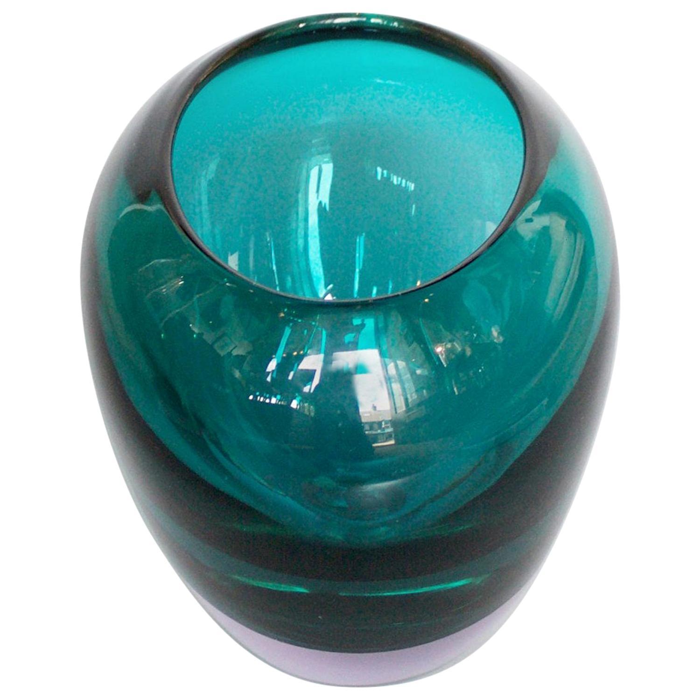 Murano Glass Vase by Fabio Tosi & Antonio da Ros for Ars Cendese, circa 1960