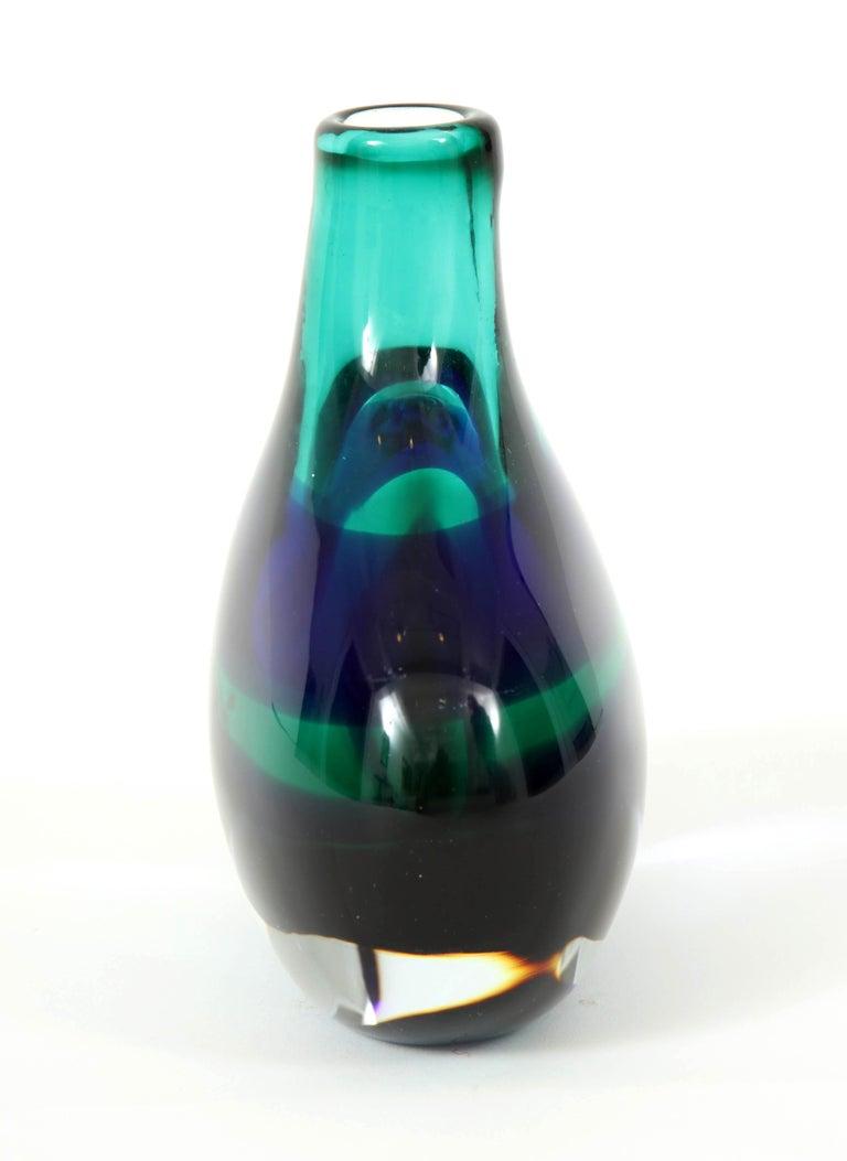Murano Glass Vase by Luciano Gaspari For Sale 1