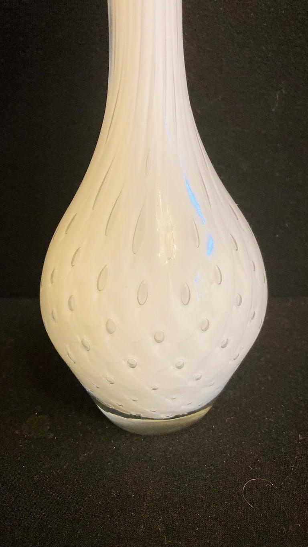 Art Nouveau Murano Glass Vase For Sale