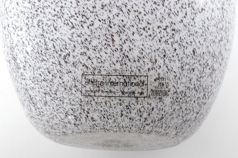 Murano Glass Vase Lino Tagliapietra & Angelin Effetre International, Italy, 1986 For Sale 7