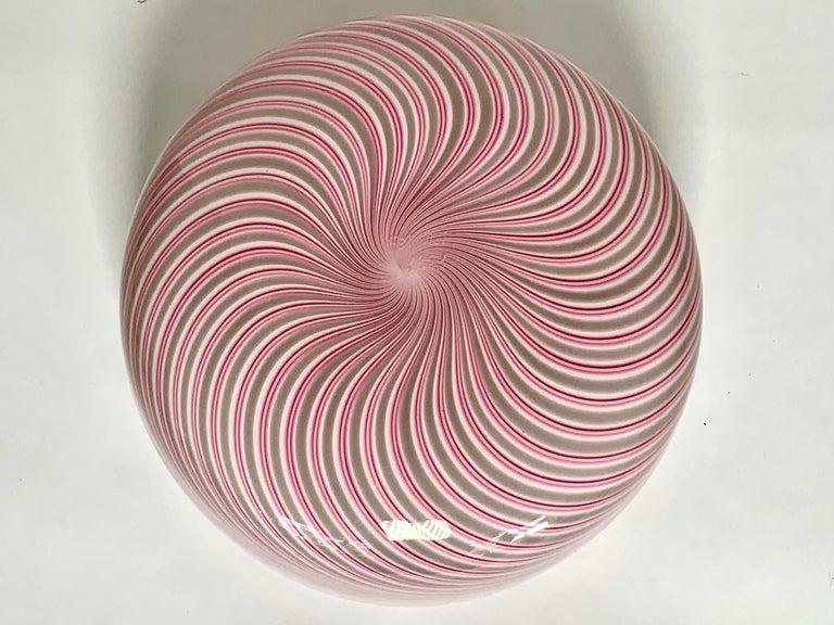 Murano Glass Vase Model Samarcanda by Lino Tagliapietra F3 International For Sale 1