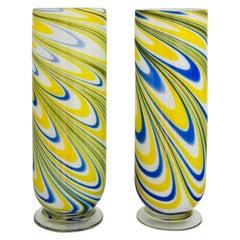 Muranoglas Vasen, Italien, Mitte des 20. Jahrhunderts