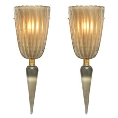 Venezianische Leuchter aus Muranoglas