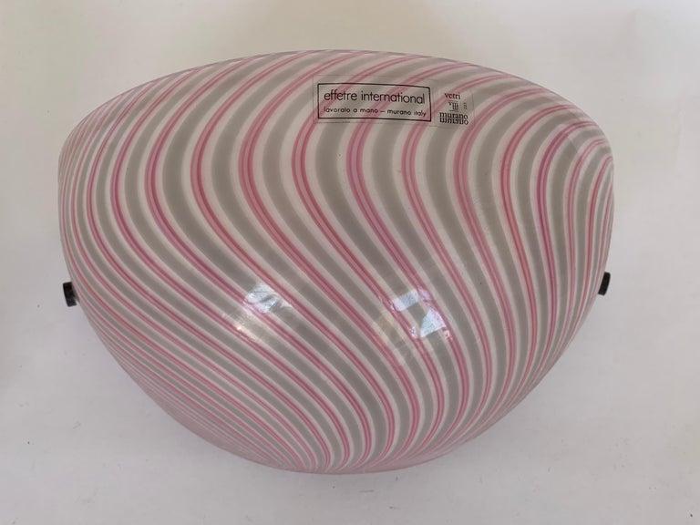 Modern Murano Glass Wall Lamps Model Samarcanda by Lino Tagliapietra F3 International For Sale