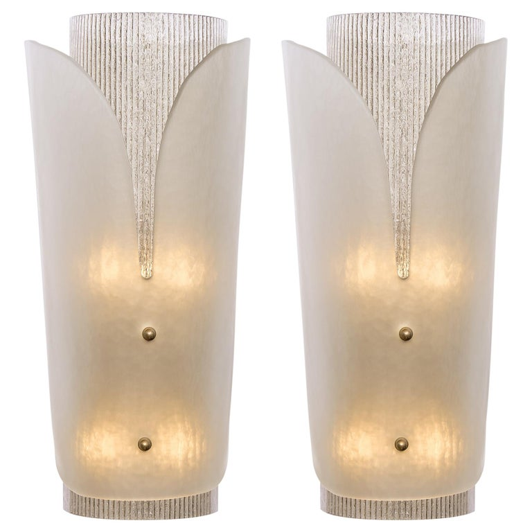 Murano Glass Wall Sconces For Sale