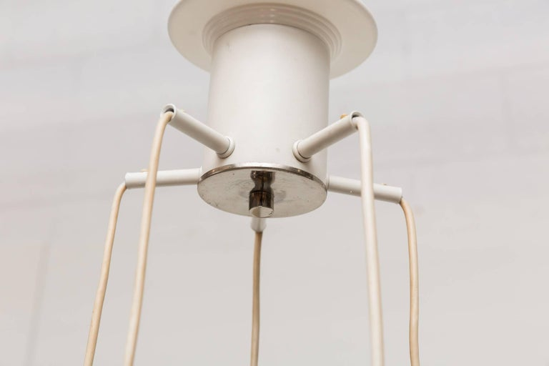 Mid-Century Modern Murano Inspired Multi Ice Glass Spider Chandelier For Sale