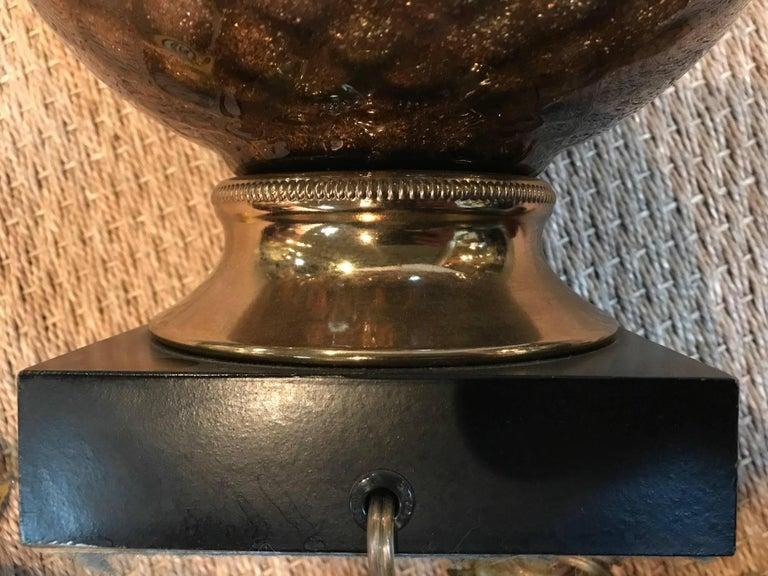 Murano Lamp In Good Condition For Sale In Dallas, TX