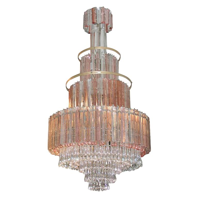 Murano Large Glass Chandelier