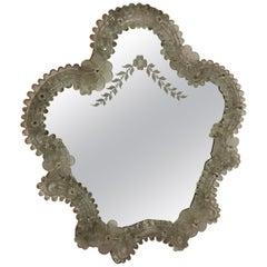Murano Mirror, Italy, 1950s