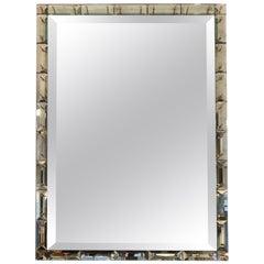 Murano Mirror Murano on Wooden Frame