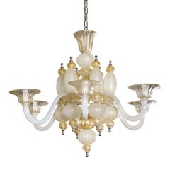 Murano Multi-Arm Chandelier