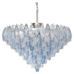 Murano Polyhedron Glass Chandelier