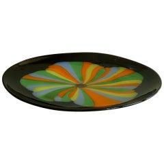 Murano Seguso Glass Centerpiece Bowl Serving