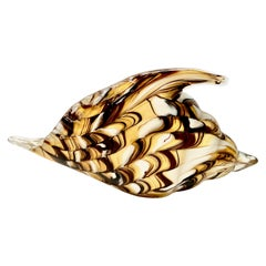 Murano Shell Sculpture or Dish