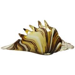 Murano Shell Vase