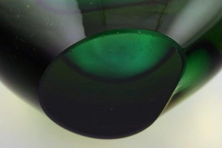 Murano Vase in Mouth Blown Art Glass, Italian Design, 1960s For Sale 1